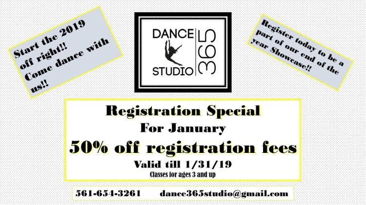 january registration